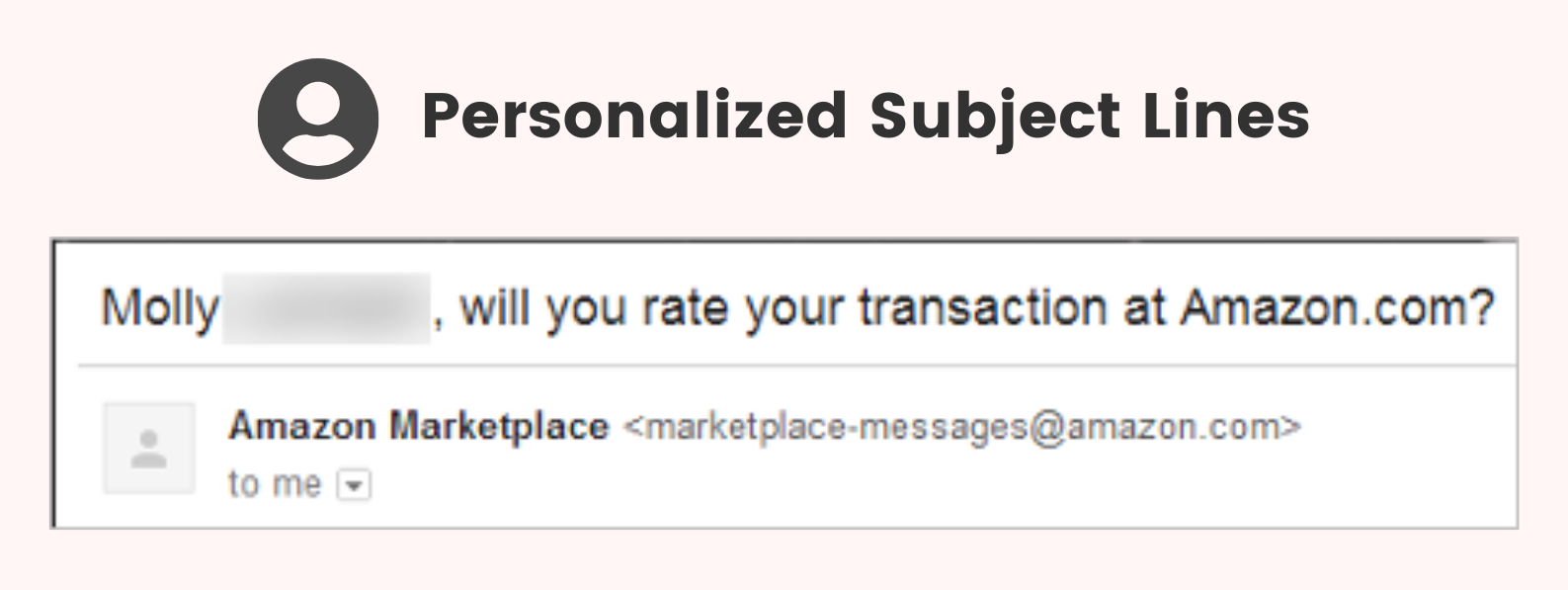 amazon personalized email subject lines