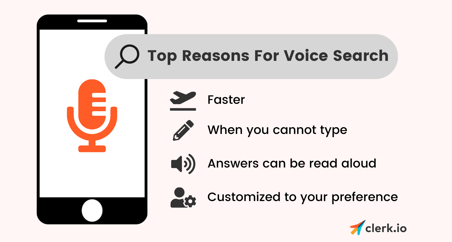 reasons for voice search
