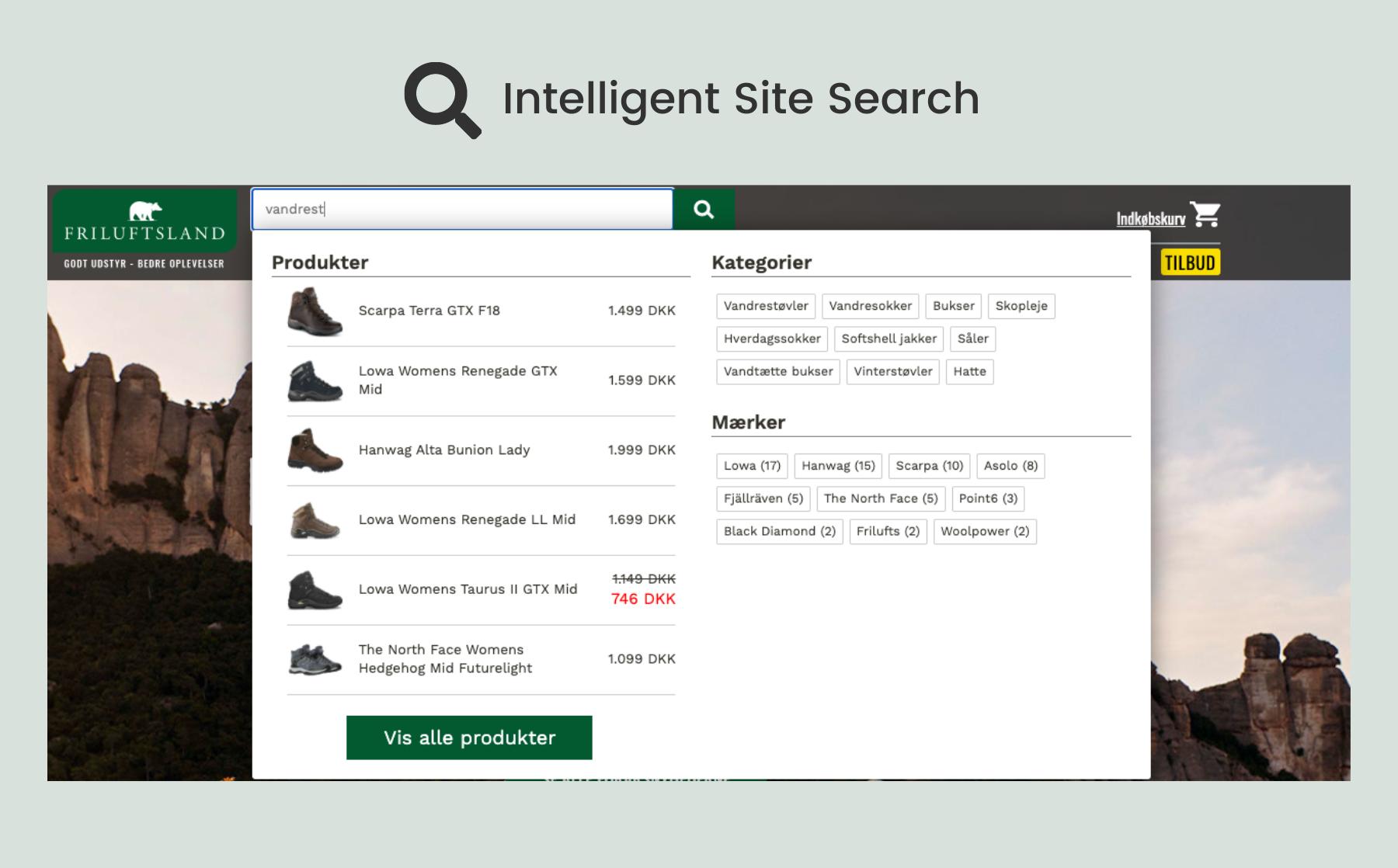 Friluftsland-SiteSearch