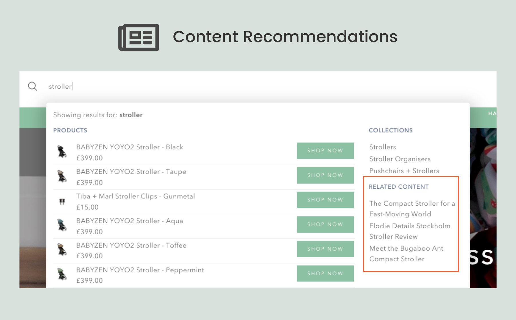 NBS-Content Recommendations
