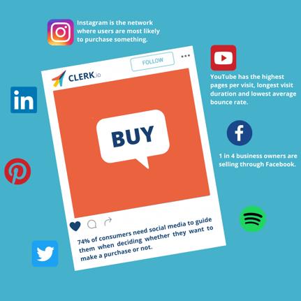 Social Media Statistics E-commerce-1
