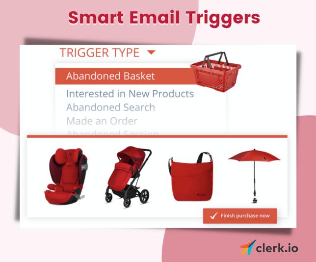 Trigger emails