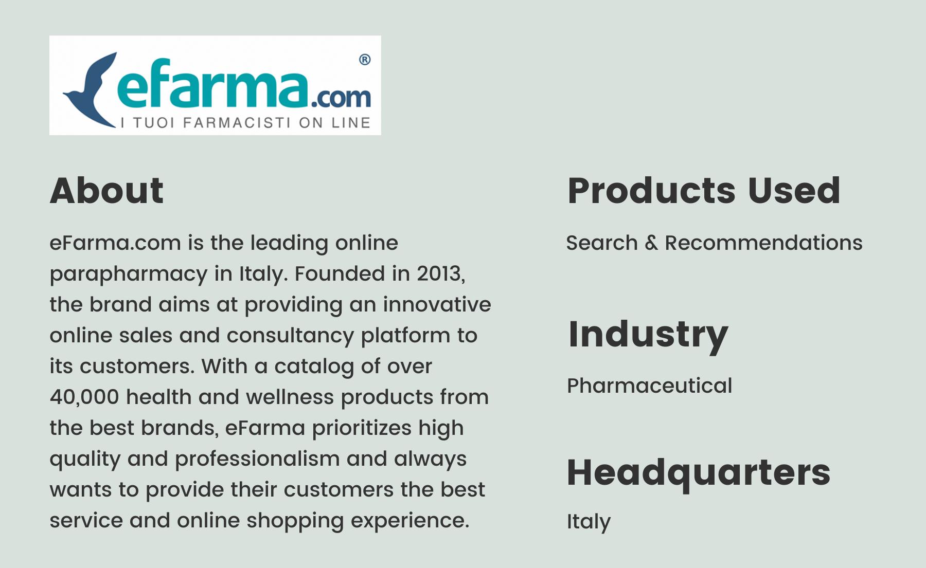 eFarma brandbio
