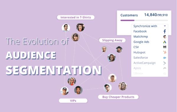 audience segmentation graphic