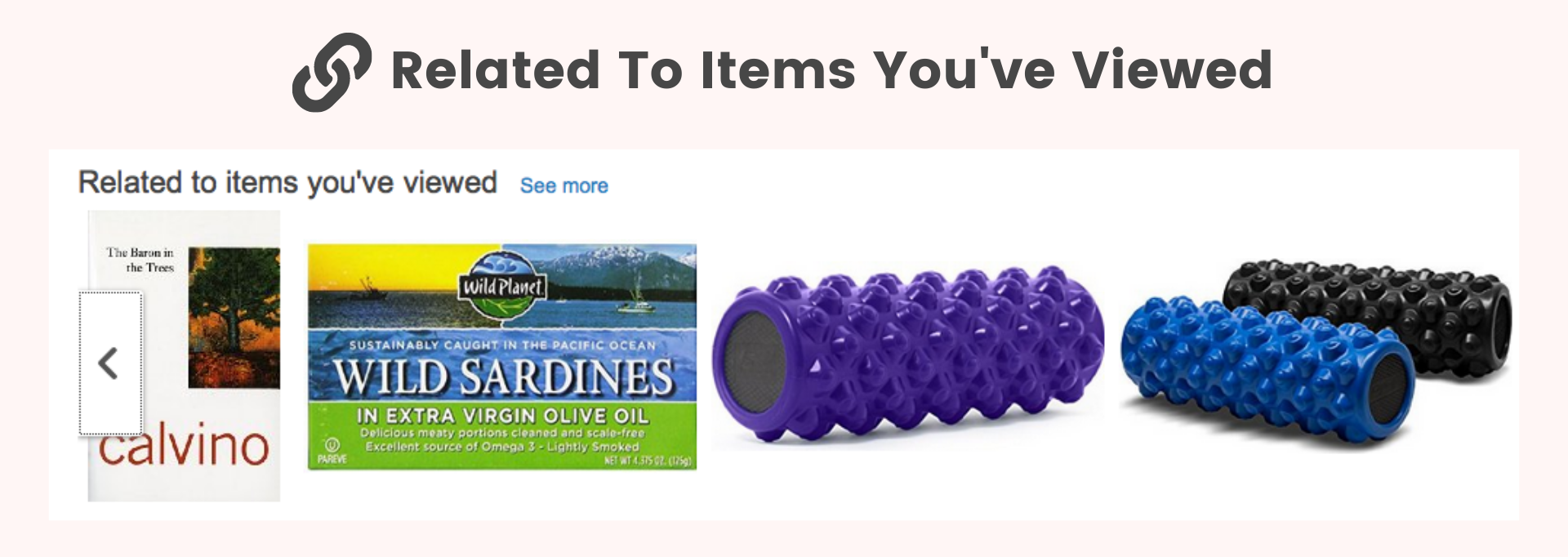 Amazon related to items you've viewed