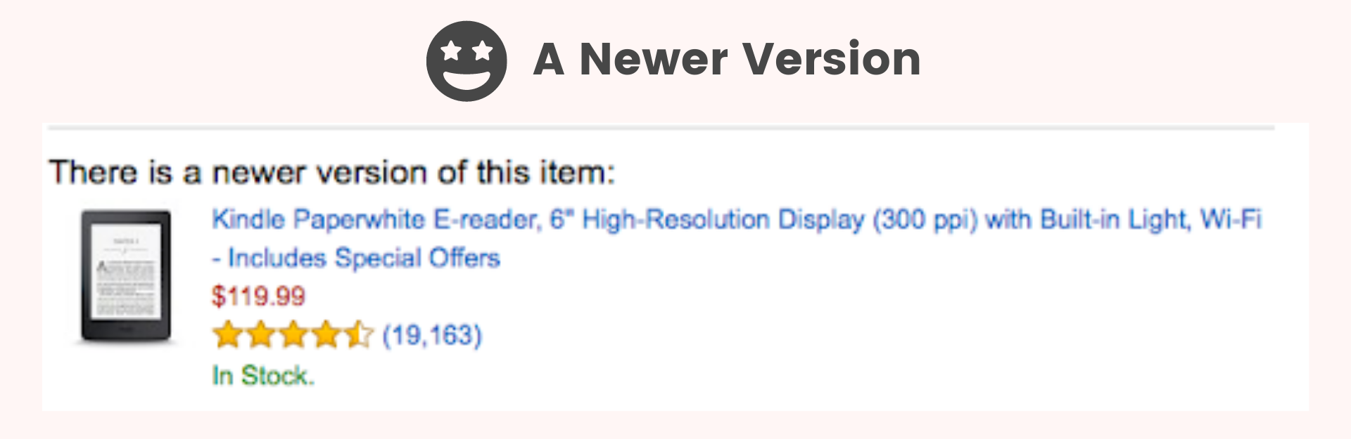 Amazon newer version