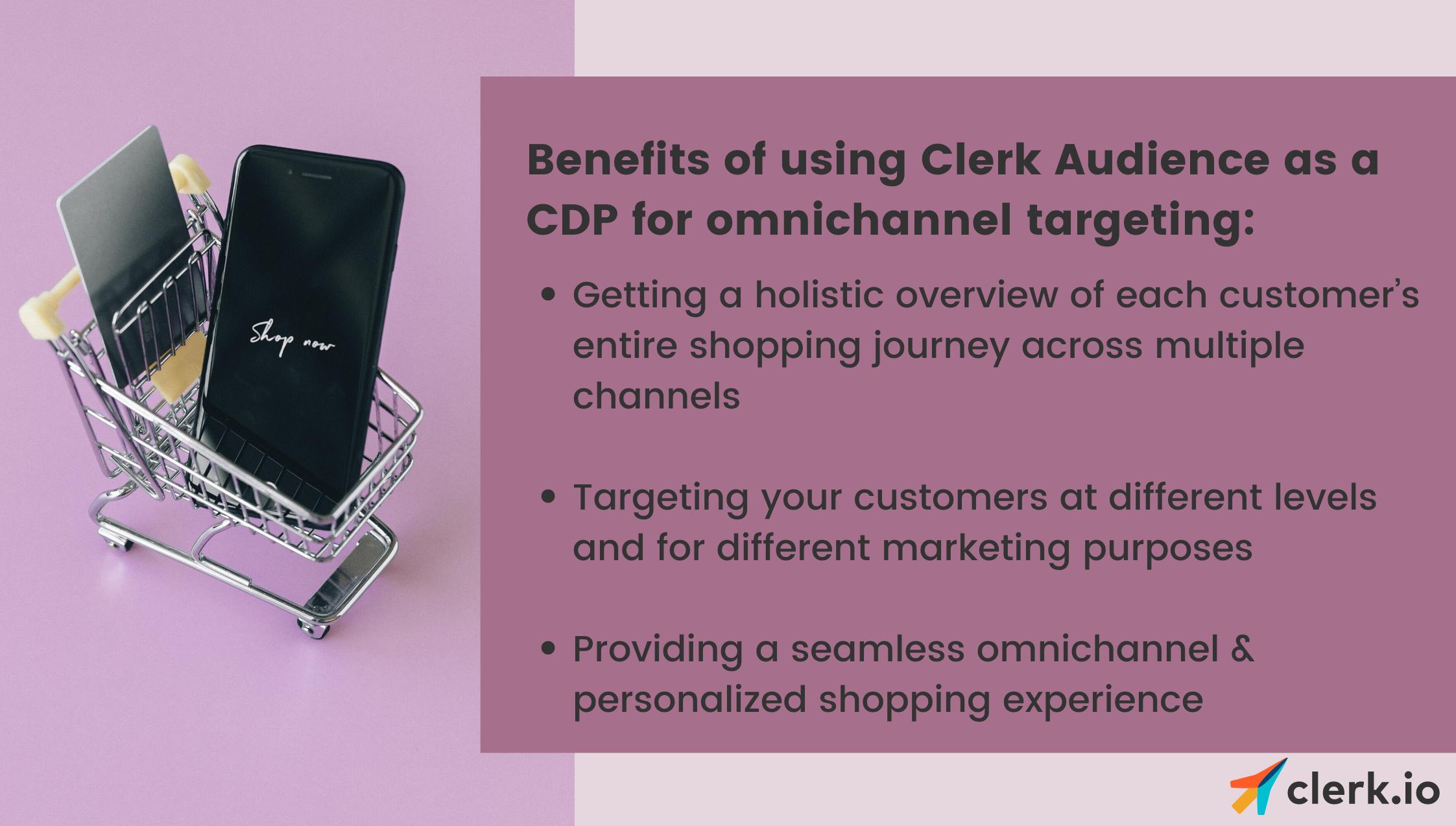 Benefits of using Clerk Audience