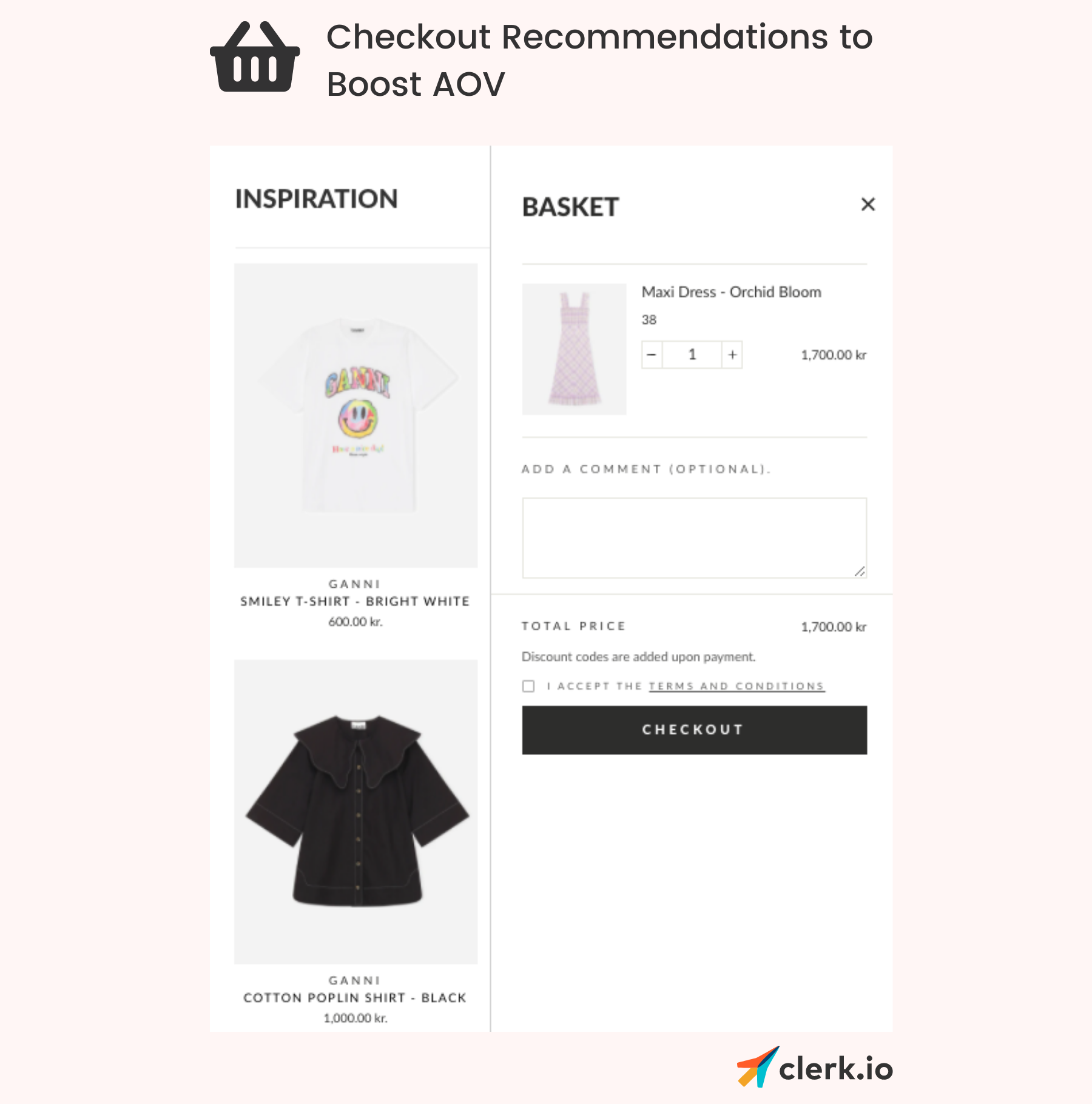 checkout recommendations